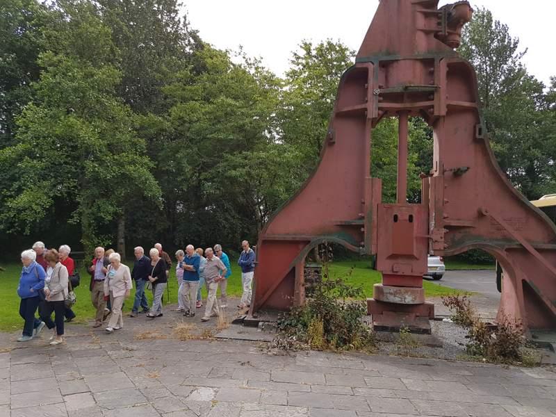 NLHS visit Blaenavon Ironworks Aug 2016